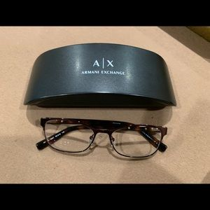 Armani exchange glasses